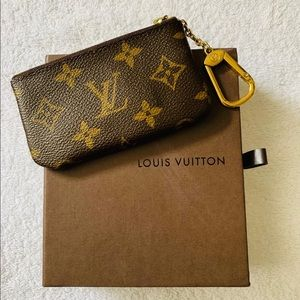 Authentic Louis Vuitton Key Pouch Monogram